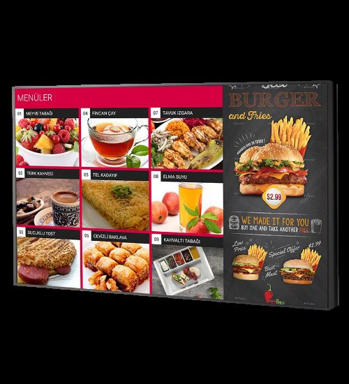 Menulux cep restoran menü programı dijital menü sistemi qrcode menü okuyucu ekranı