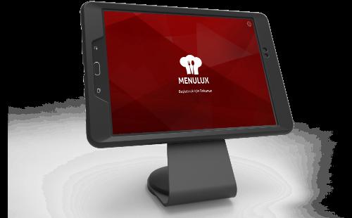 Menulux POS Sistemi Restoran Otomasyonu ve Adisyon Programı - iDisplay ürünler ekranı