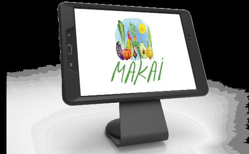 Menulux POS Sistemi Restoran Otomasyonu ve Adisyon Programı - iDisplay satışlar ekranı