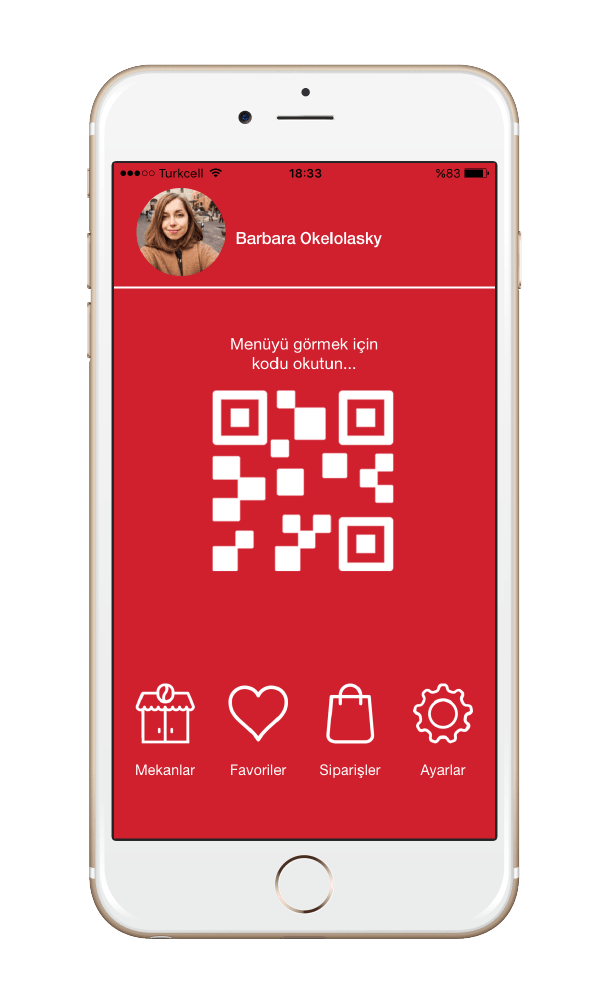 Menulux Pocket mobile ordering system splash screen