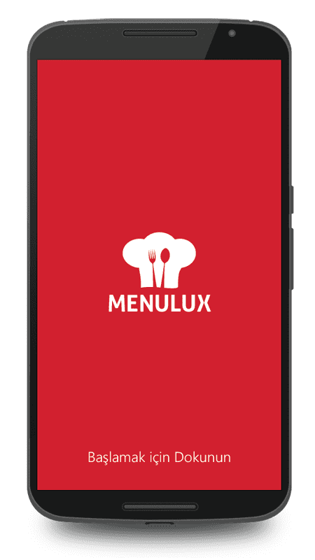 Menulux Waiter mobile POS system for mobile ordering
